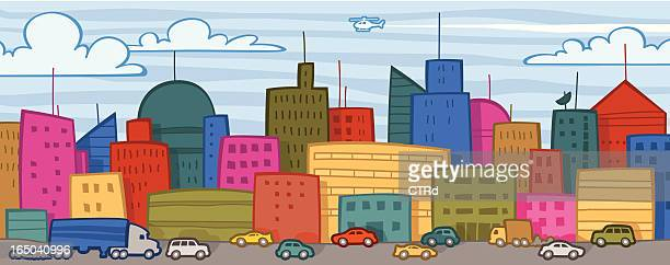 Cityscape & Traffic