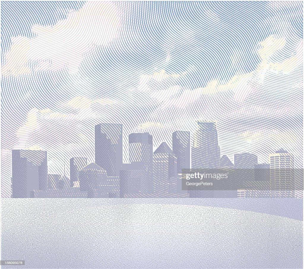 Stadtansicht : Vektorgrafik