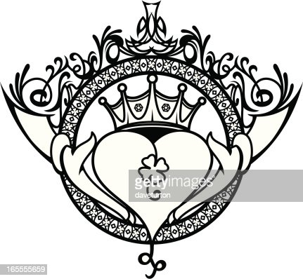 Claddagh Irish Symbol Vector Art Getty Images