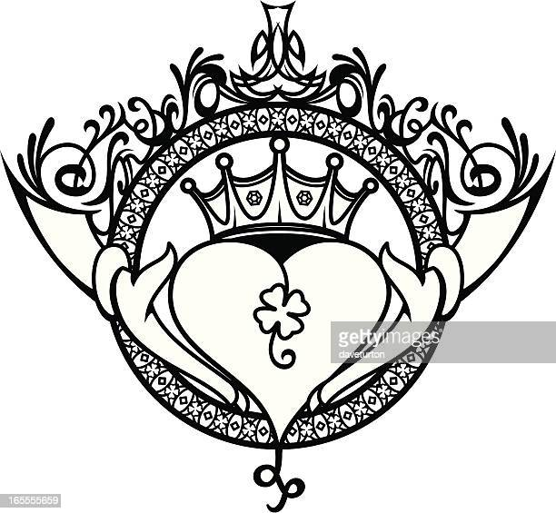 Claddagh Stock Illustrations And Cartoons Getty Images