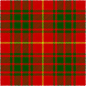 Clan Bruce Scottish Tartan Plaid Pattern