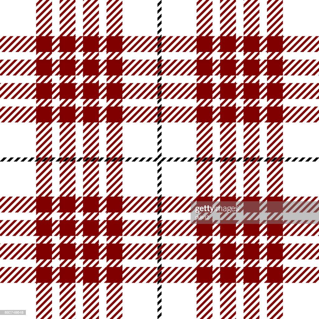 Clan Buchanan Tartan Plaid Seamless Pattern Design