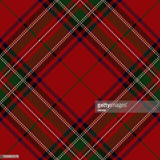 Clan Stewart schottischen Tartan Plaid
