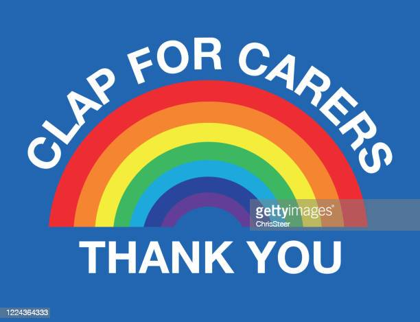 clap for carers - clap for carers stock illustrations
