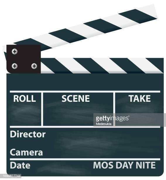 Clapper Film Movie Cinema Vector Icon