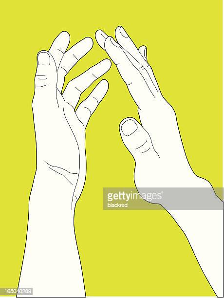 clapping - applauding stock illustrations, clip art, cartoons, & icons