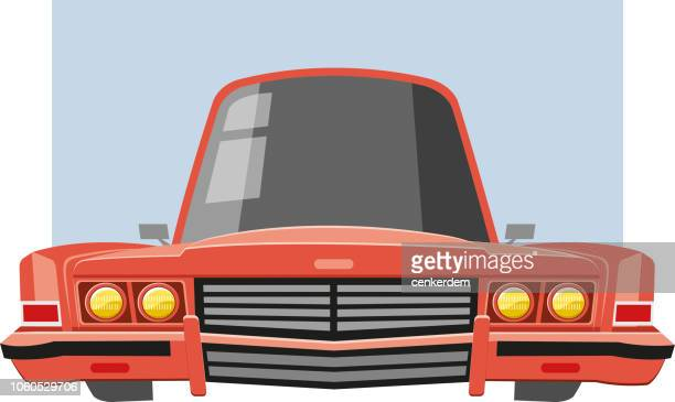 classic american car - car ownership stock illustrations, clip art, cartoons, & icons