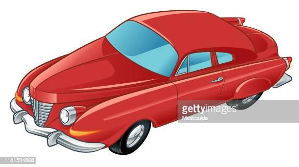 classic american car - low rider stock illustrations