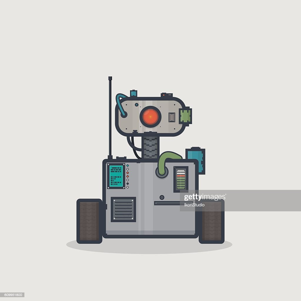 Classic box robot