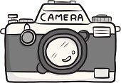 classic camera cartoon