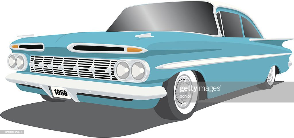 Classic Car - 1959 Chevy Impala
