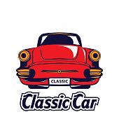 Classic car design template
