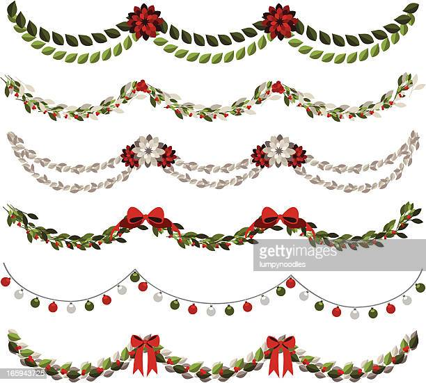 Floral Garland Stock Illustrations And Cartoons | Getty Images