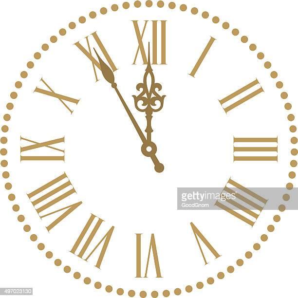 ilustrações, clipart, desenhos animados e ícones de classic-relógio - relógio de pulso