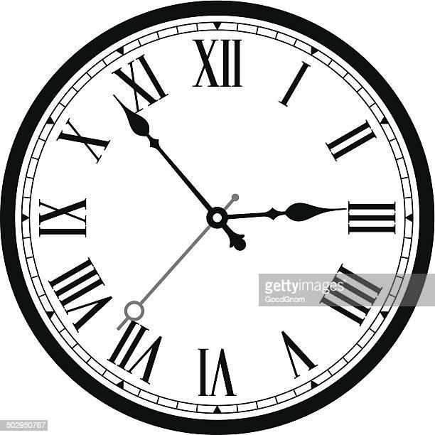 ilustraciones, imágenes clip art, dibujos animados e iconos de stock de clásico de reloj - viejo