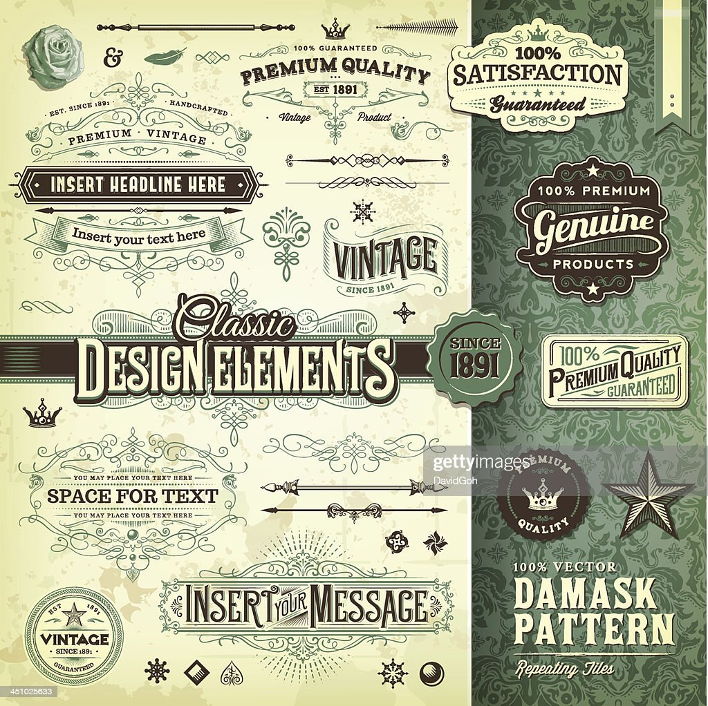 Classic Design Elements Toolkit