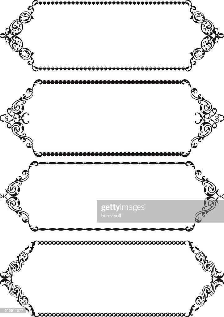 Classic Frames Vector Art | Getty Images