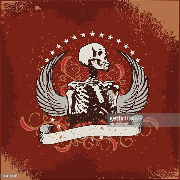 classic hard rock banner - modern rock stock illustrations