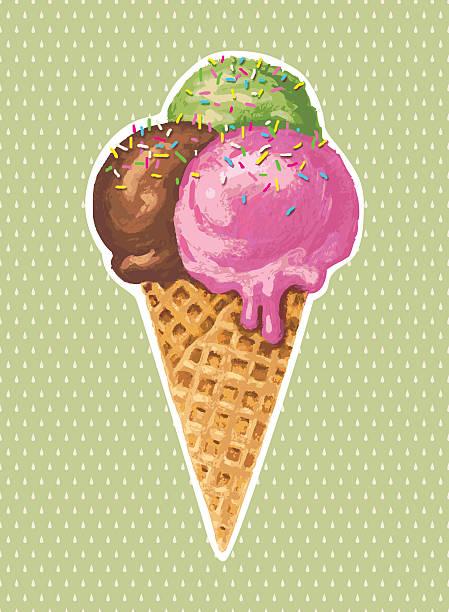 Classic Ice Cream Wall Art