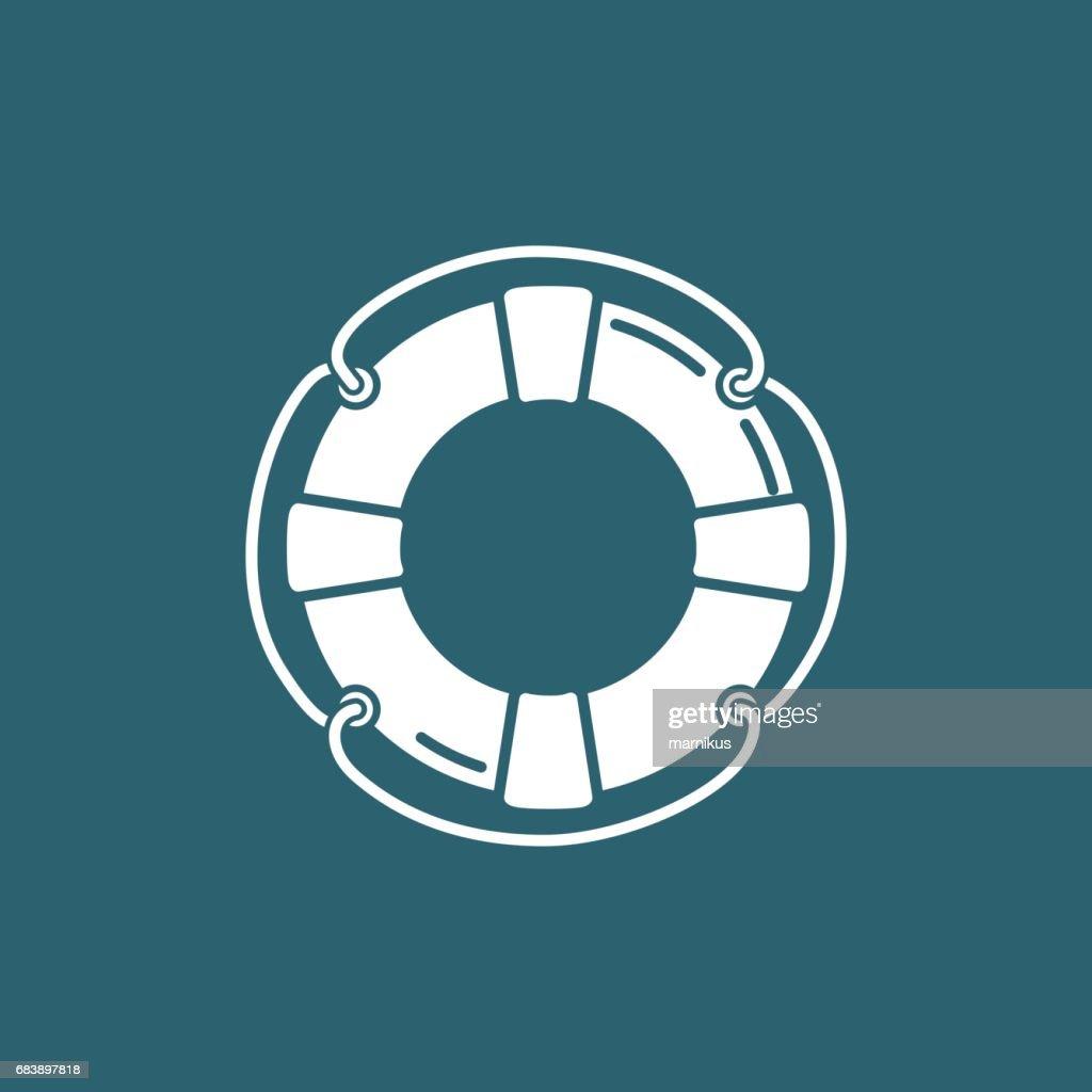 classic lifebuoy icon