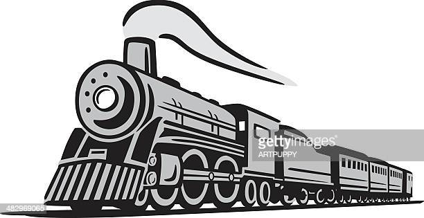 Classic Locomotive Train