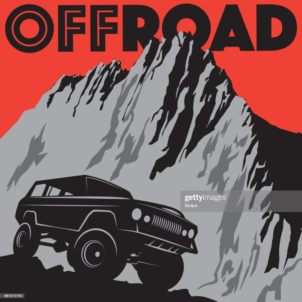 Classic off-road car