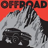 Classic off-road car