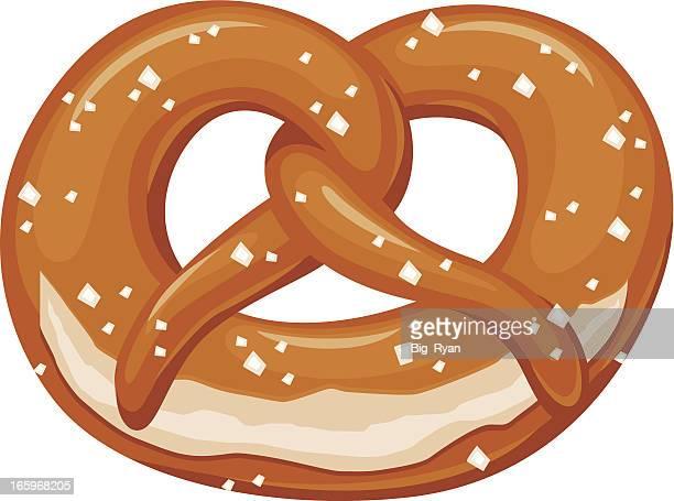 classic pretzel - pretzel stock illustrations, clip art, cartoons, & icons