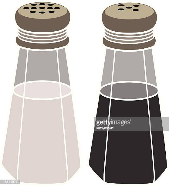 classic salt and pepper shakers