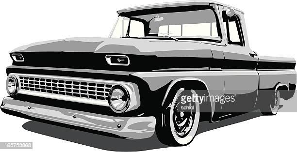 Classic Vector Pickup Truck