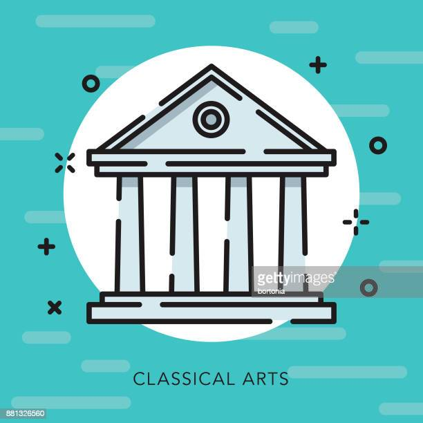 Classical Arts Open Outline Arts & Culture Icon