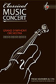 classical concert poster
