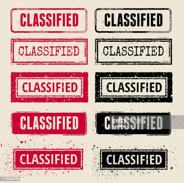 classified vector rubber stamp collections - filing documents stock illustrations, clip art, cartoons, & icons