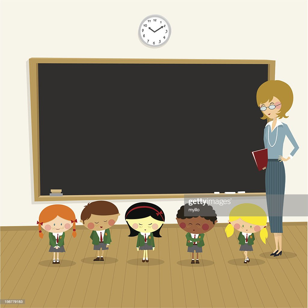 Classroom : stock illustration