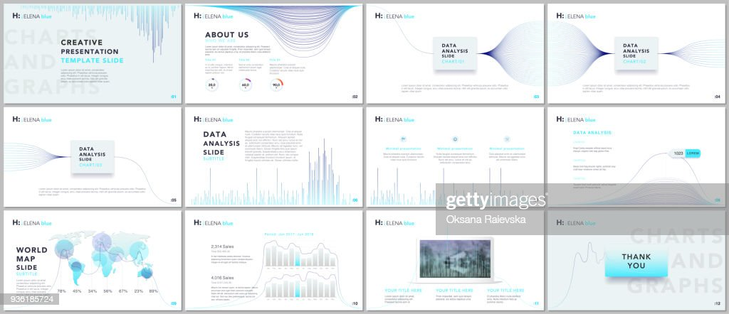 Clean and minimal presentation templates. Business infographic. Brochure cover vector design. Presentation slides for flyer, leaflet, brochure, corporate, marketing, advertising, annual report, banner.