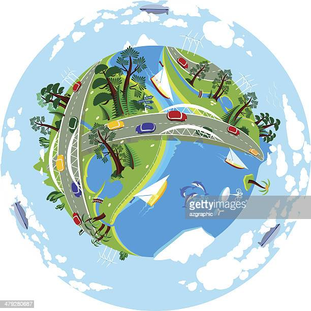 clean earth - small stock illustrations, clip art, cartoons, & icons