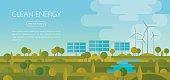 Clean Energy Landscape Banner