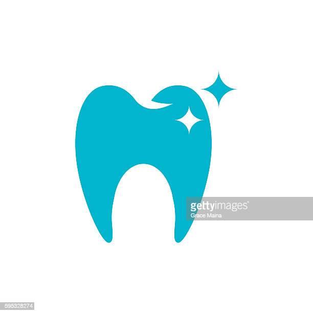 ilustraciones, imágenes clip art, dibujos animados e iconos de stock de clean tooth  illustration - vector - dientes humanos