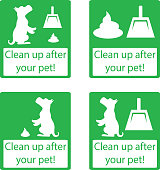 Clean up after your pet.