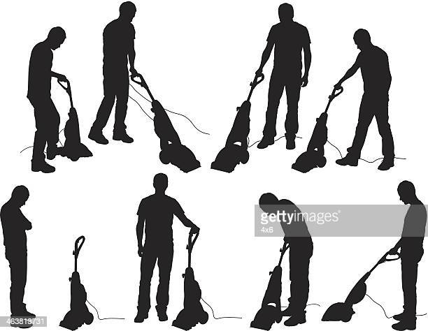 cleaner - vacuum cleaner stock illustrations, clip art, cartoons, & icons