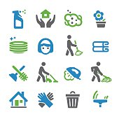 Cleaning Icons - Spry Series