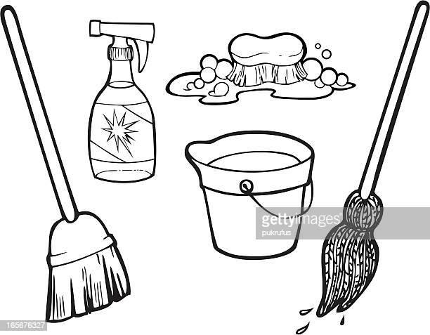 Artículos de limpieza de trazado