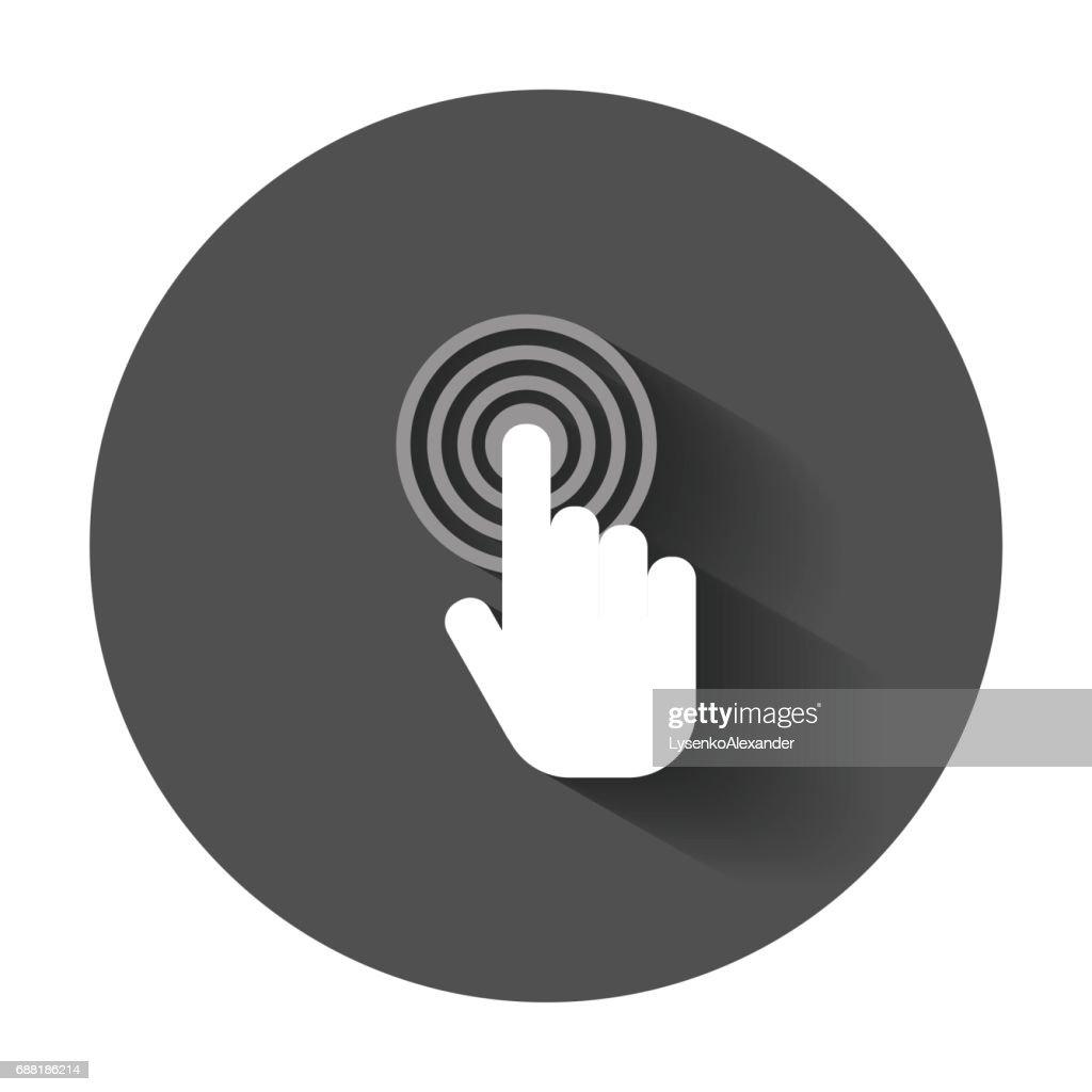 Click hand icon.