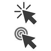Click icon on white background.