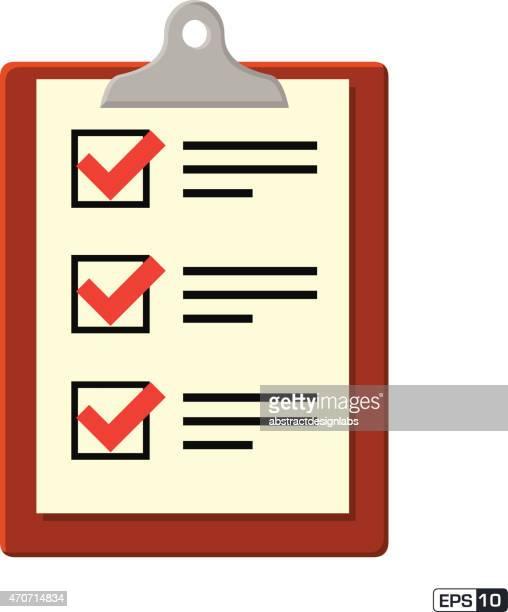 クリップボードのチェックリスト - スポーツ チェックする点のイラスト素材/クリップアート素材/マンガ素材/アイコン素材