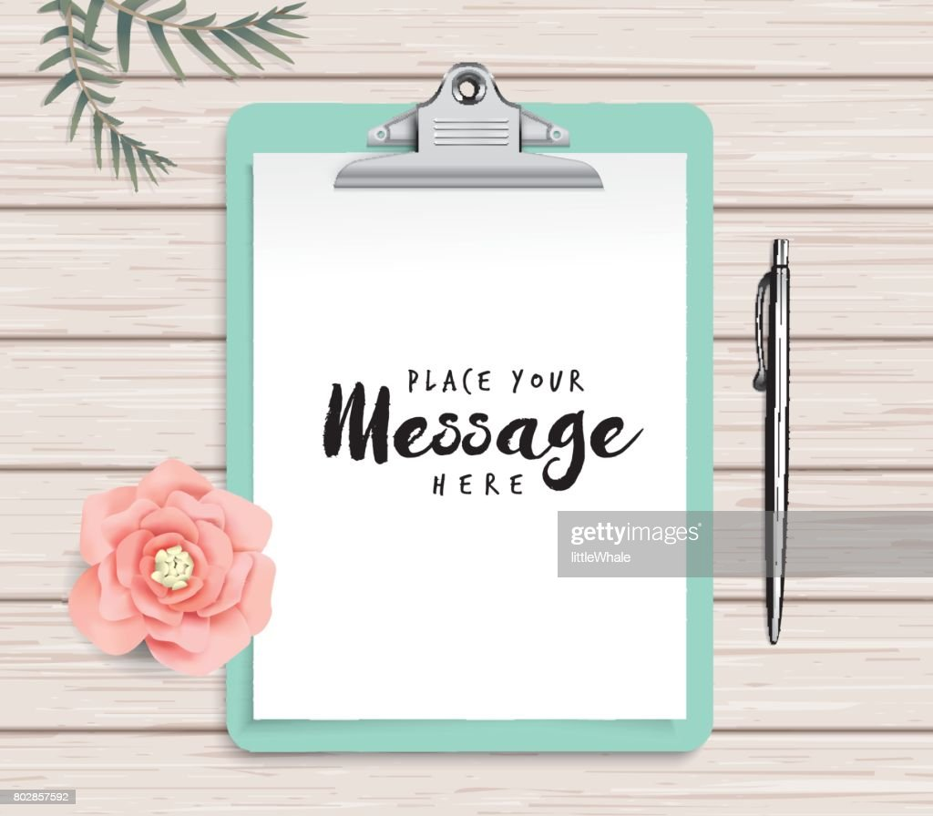 clipboard template vector art getty images