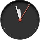 clock 05 black