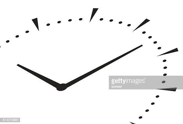 clock icon - clock stock illustrations, clip art, cartoons, & icons