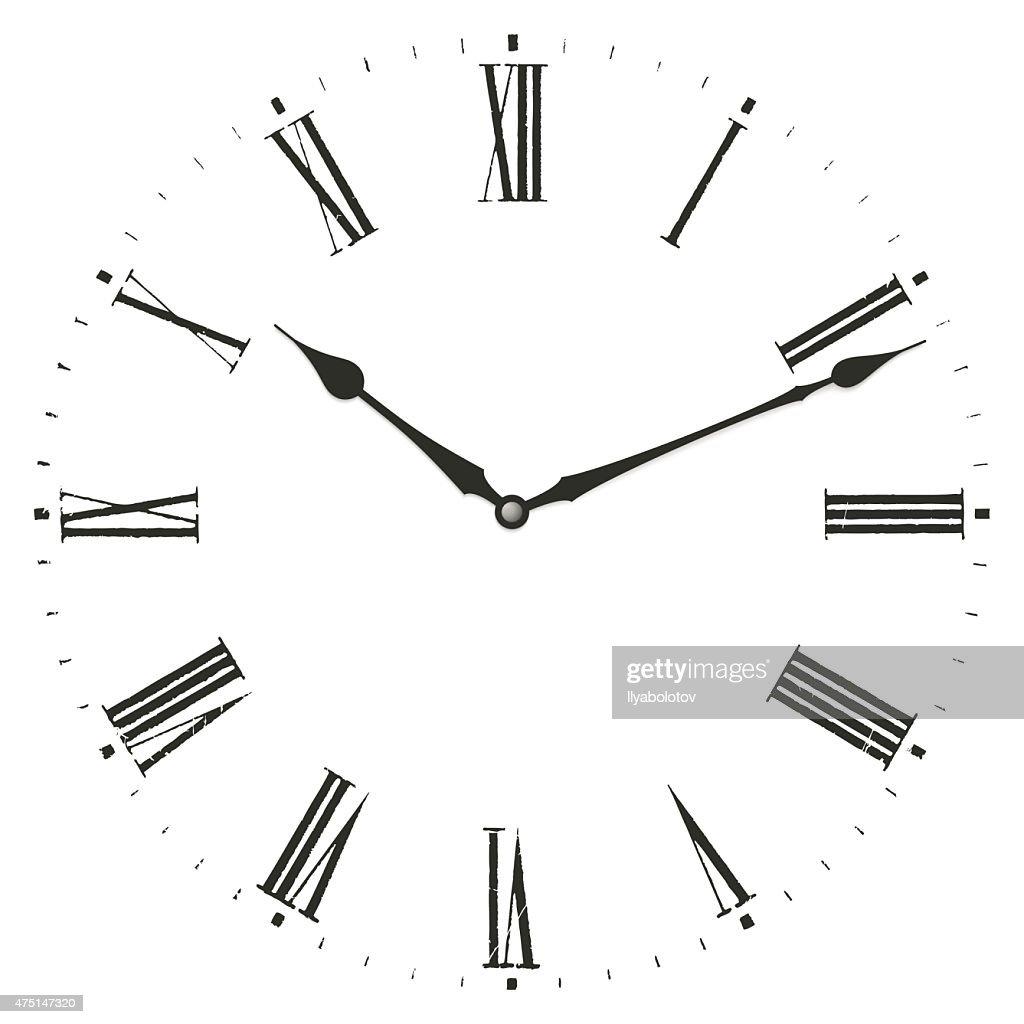 Clock illustration.