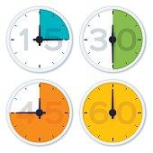 Clock Time Symbols